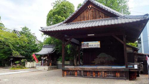 北野神社の能舞殿