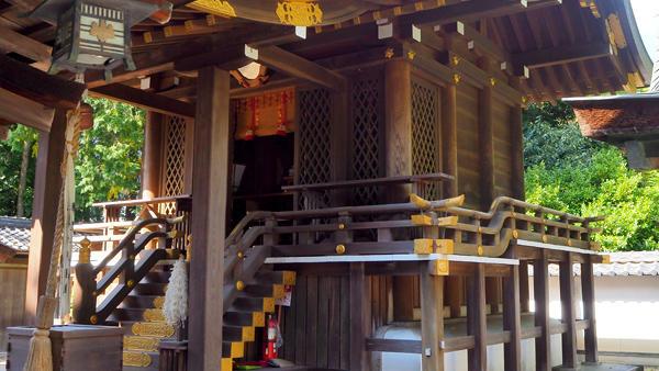水口神社 本殿