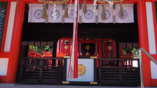 佐久奈度神社 本殿