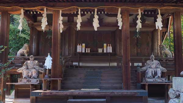 三尾神社 本殿