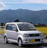 昔乗っていた三菱自動車のekスポーツ