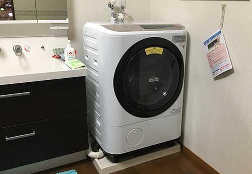 日立 ビッグドラム ドラム式洗濯乾燥機 BD-NX120BL