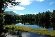 志賀高原 渋池から横手山を望む